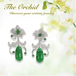 The Orchid - Earrings