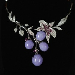 The Orchid Necklace