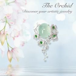 The Orchid - Pendant